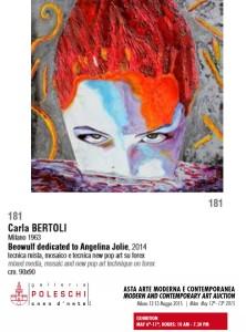Asta Arte Moderna Contemporanea - Carla Bertoli Asta Maggio Poleschi 2016