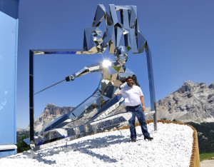 Daniele Basso presenta GIGANT alla celebrazioni in Alta Badia