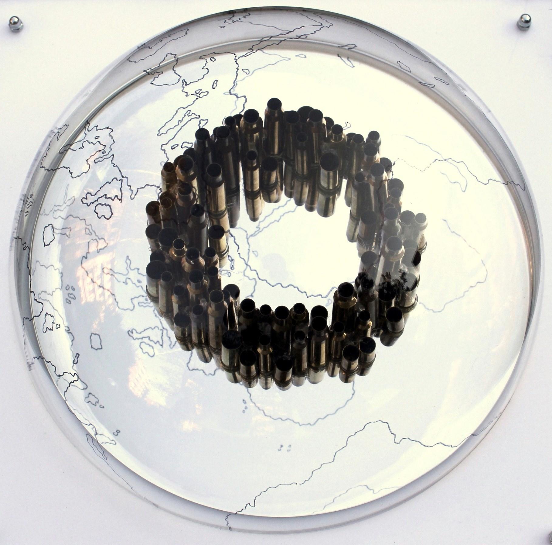 Ogni cento metri il mondo cambia Group show Gigi Piana