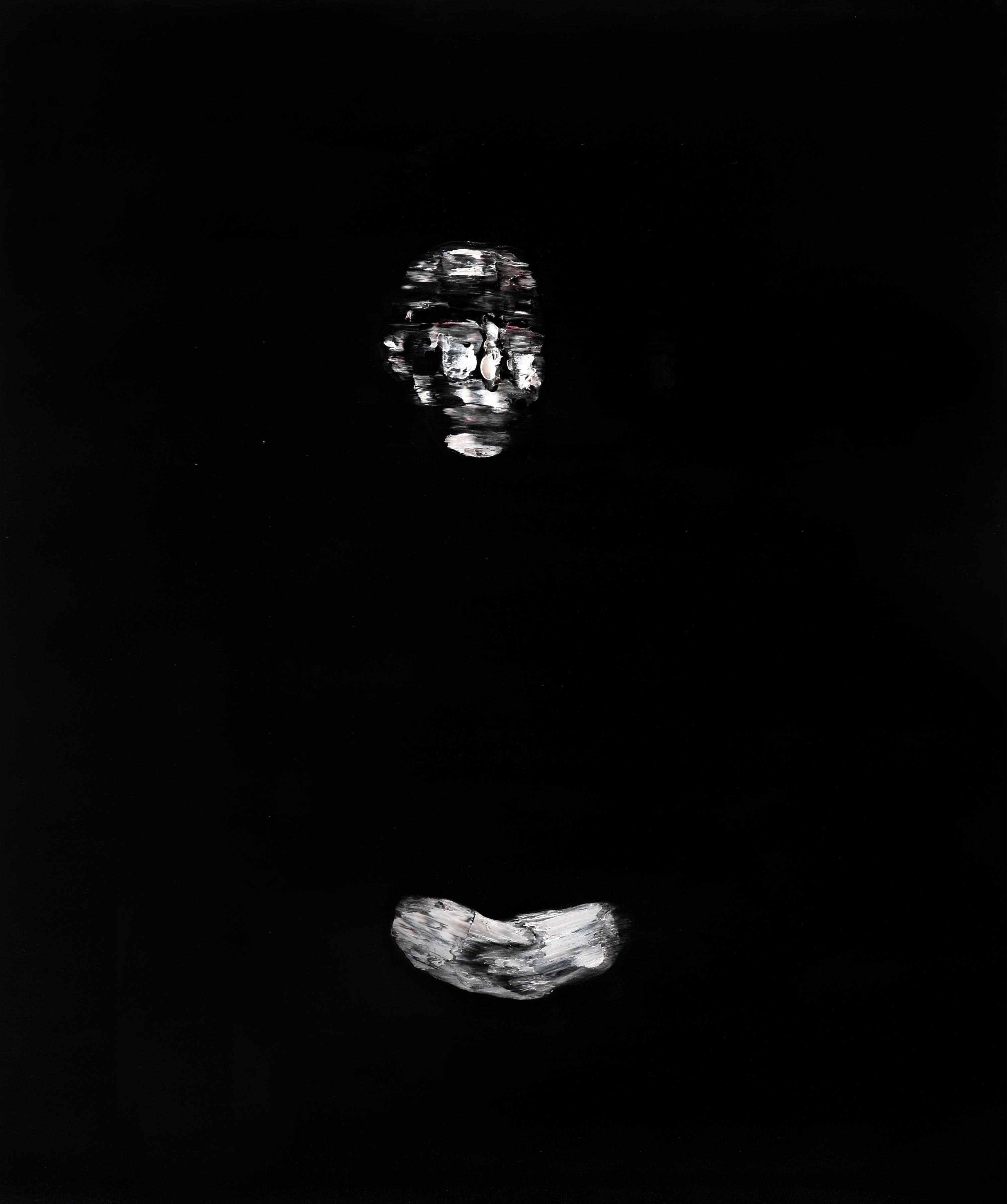 Villa Bardini la collettiva di arte contemporanea 'Nero su Nero'.