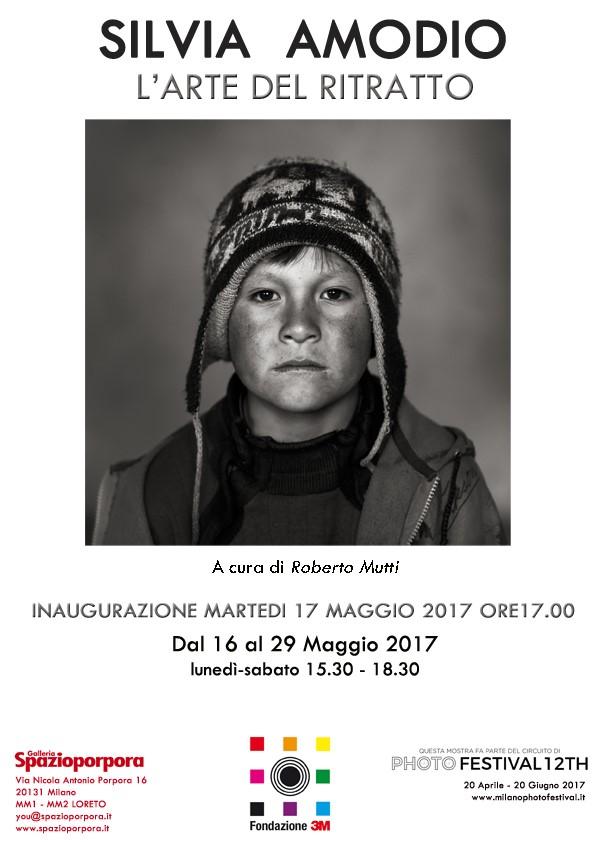 Spazioporpora la Fondazione 3M presenta SILVIA AMODIO L'arte del ritratto