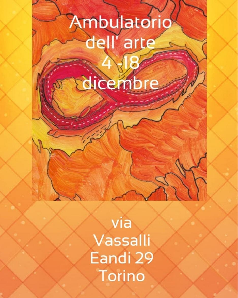 Paolo Spertino Contornista Astratto in mostra all'Ambulatorio dell'Arte