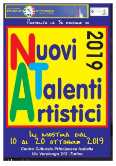 3^ Edizione Nuovi Talenti Artistici