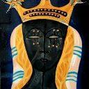 La Madonna Nera di Oropa dipinta da Luciano Angeleri
